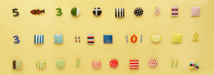 こちらは京都にあるNPO法人「salut(サリュ)」で作られている七宝焼きアクセサリーです。カラフルな色使い、カジュアルで普段使いできそうなデザイン、どれも可愛い!