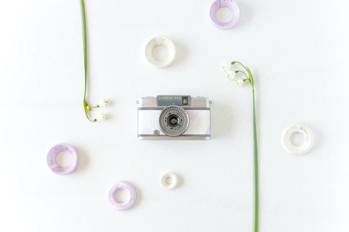 こちらの新作カメラのテーマはまだ決まっていないそう。「どうしましょうかね。うふふ」。(画像提供:Rie-Came)