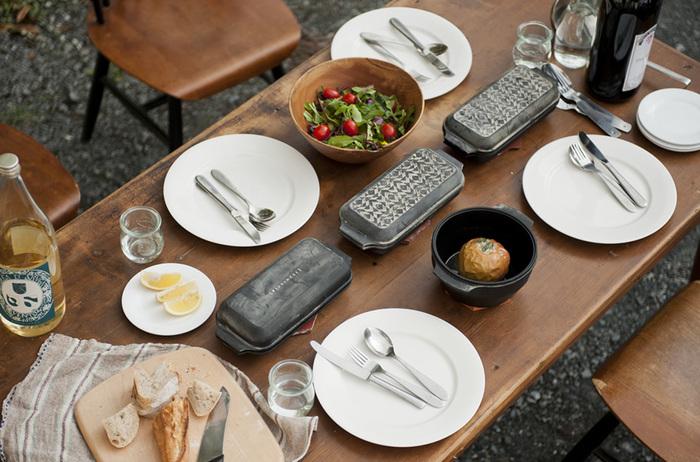 そのまま食卓にも♪レディメイドプロダクツのWEEKENDERが素敵