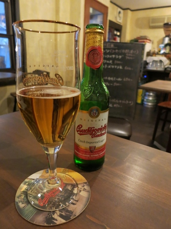 チェコと言えばビール!ビールの王様、ピルスナー・ウルケルを始め、チェコのビールが各種堪能できます。ビール好きの方に特に嬉しいお店です。