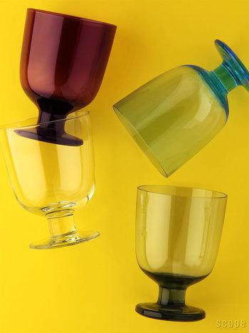 大人っぽいカラーも魅力的なグラスです。