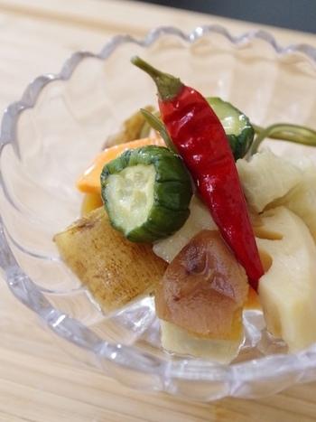 根菜のサッパリした味です。