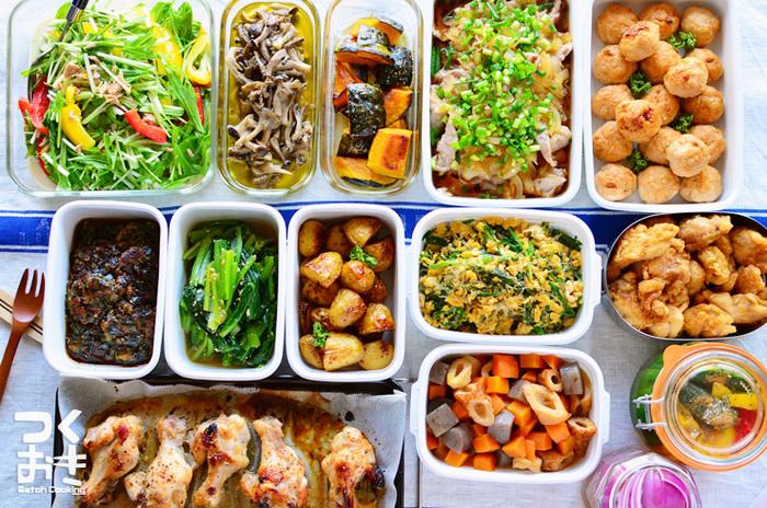 どれも今すぐ作ってみたくなる、簡単で魅力的なレシピばかりでしたね。 今回紹介しきれなかったレシピをはじめ、無駄のない買出し方法や、作り置きのコツなどなど、常備菜について知って得する情報が満載なので、是非サイトへ飛んでチェックしてみてください!もっともっと日々の食事が楽しくなるはず☆