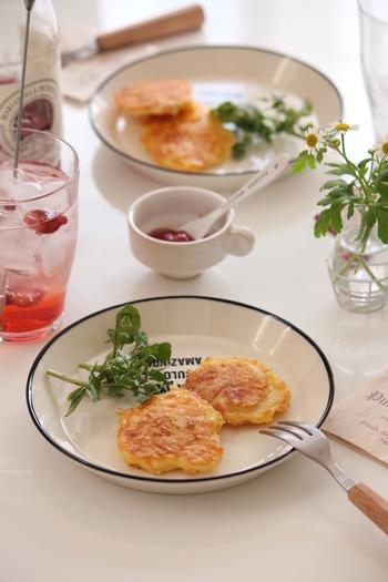メークインとたっぷりのチーズで作るミニガレット。しっかりと形成されているので、お弁当にも入れたい一品。