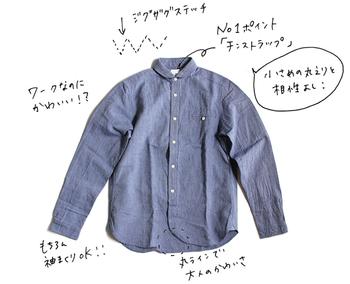 例えばシャツ特集。このように手書きのコメント付きで、ポイントをかいてくれているから、通信販売でも安心して注文することができますね。 まるで、実店舗で仲良しの店員さんとお話しているみたい!