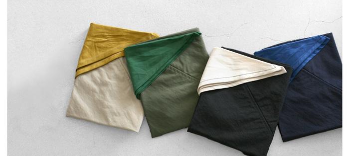 シンプルなのに洗練された印象のあづま袋。性別・年齢を問わず楽しんで頂けます。