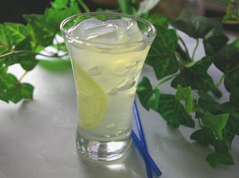 蜂蜜レモンと混ぜあわせていただく、見た目も涼やかで爽やかな甘さのところてん。ミントを加えたり凍らせると、口直しにもぴったりの一品になってくれます。