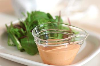 面倒なソース作りも楽々!常備しておけば色んな料理に使えそう。