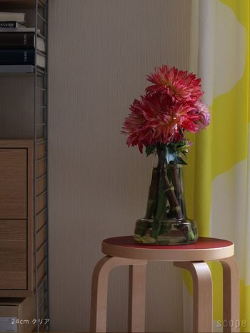 ホルムガードの名作花瓶〈フローラ〉。花を生けることが日常に。