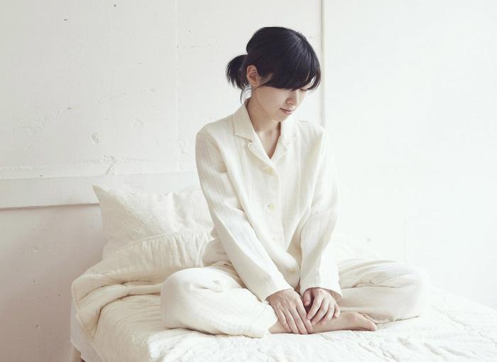 ありそうでなかった柔らかいガーゼ素材で出来たパジャマです。