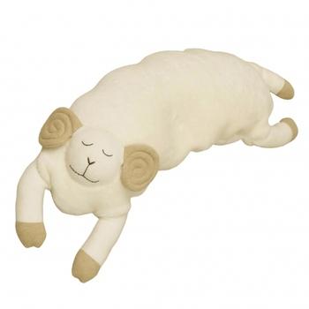 今日はどんな夢が見られるかな?と眠るのが楽しくなりそうなひつじのピローです。洗えるので、ずっと清潔に使えますよ。