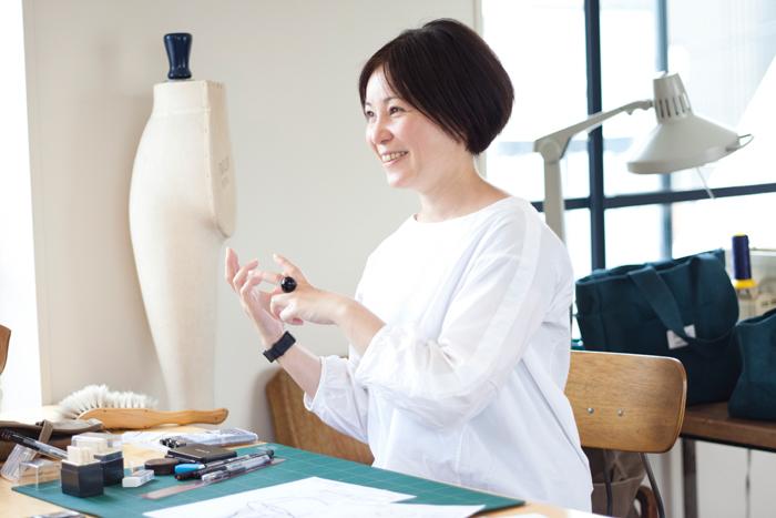 終始笑顔を絶やさなかった唐澤明日香さん。会えば思わず好きになってしまう、そんな魅力的な女性です