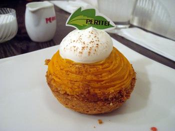 近くに「Peri亭」のケーキ屋さんがあり、スイーツもとっても美味しい!ランチにプラスして注文することもできますよ。