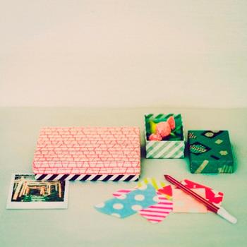 和紙を使ったBOXや封筒なども多数展開されていいます。