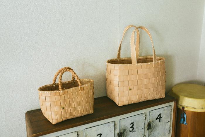 見るからに丁寧な造りであることが伝わってくるkurosawaのバッグ。