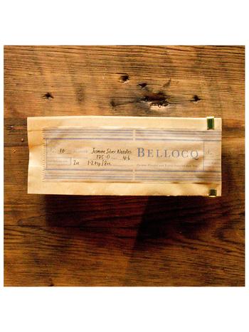 茶葉はもとより、BELLOCQ ではパッケージングにしてもできるだけオーガニックで環境に優しい物を使うように心がけているのだそう。