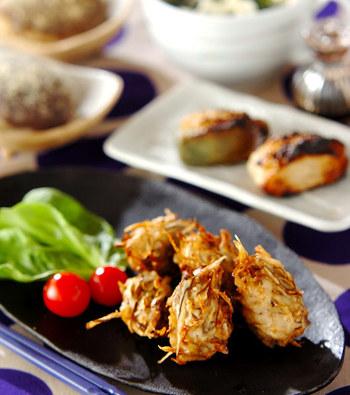 ササガキごぼうをふんだんに入れることで、食物繊維をたっぷり摂取できます。少し残ってしまったごぼうを消費するにも便利なレシピです。