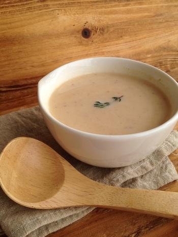 野菜の旨味がぎゅぎゅっと詰まったポトフの食材はスープのリメイクにぴったり。牛乳を加える事でまたポトフの味わいとは違った楽しみ方ができますね。すでに充分煮込んであるので下ごしらえいらずの簡単レシピで2度美味しい、賢いリメイクレシピです*