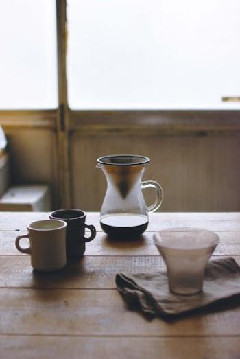 SLOW COFFEE STYLEには、そんなひとときを演出してくれるアイテムがたくさん揃っています。自分好みのスタイルに組み合わせて、心から味わえるひとときを・・・♫