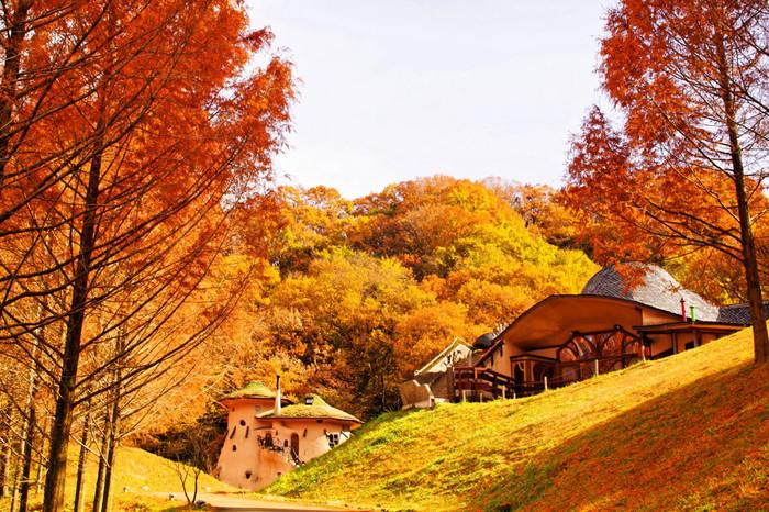 あけぼの子どもの森公園は、埼玉県飯能市にあります。こちらの公園は「ムーミン」の童話の世界をモチーフに作られ、「平成記念子供のもり公園」として国から指定を受け、平成9年(1997)7月に開園しました。自然が豊かな公園内は、ムーミン谷を見事に再現したメルヘンな世界が広がっています。ムーミン屋敷を表現したきのこの家やドーム型の子ども劇場など、ここにしかない魅力をご紹介していきます。