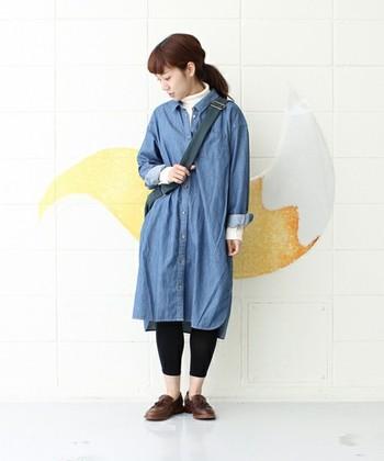 いかがでしたか?デニムワンピースは一着あるととても便利なアイテムです。是非秋冬スタイルにも取り入れてあなたらしいお洒落を楽しみましょう。