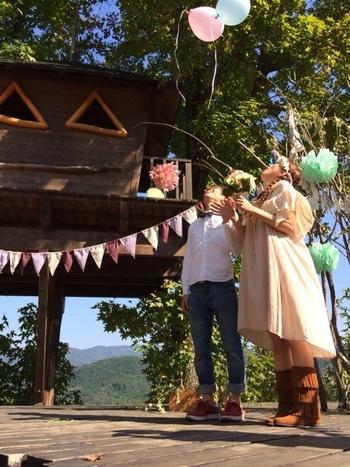 ウエディングマルシェなど、色々なテーマのイベントも行われています。