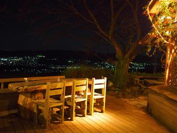 夜になると夜景がとってもきれい♪特別な日に、訪れてみてはいかがでしょうか?