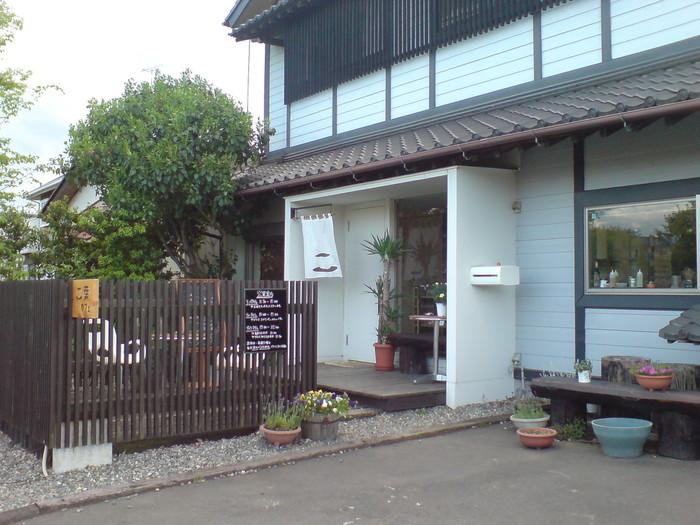 真岡鐡道の近く、和風テイストがステキなカフェ。なんと、元お寿司屋さん!和風カフェの雰囲気が好きな方は、ぜひとも足を運んでみては?