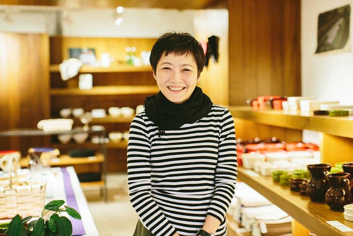 お話しを伺った矢野直子さん。ふわりとした優しい笑顔とやわらかな語り口が印象的な、とてもチャーミングな方でした