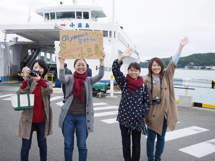 菅野さんが初めて小豆島に訪れた時の写真 写真:小豆島カメラ