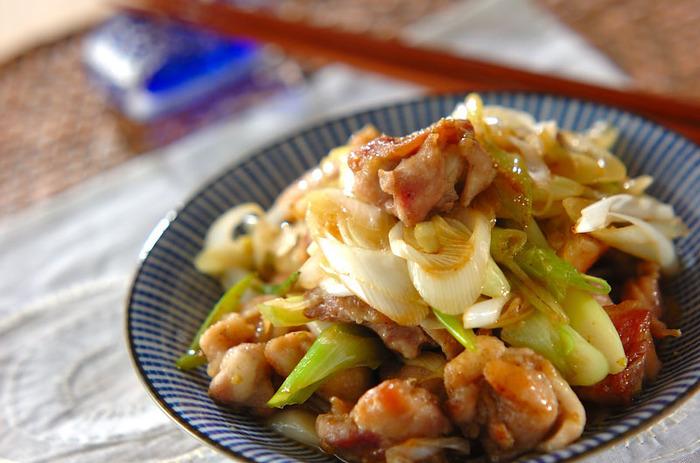 鶏もも肉と長ネギの絶妙なバランス。 食感までおいしい一皿が、食卓をいちだんと彩ります。