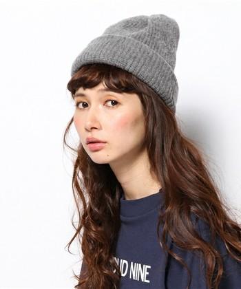 ニット帽」を秋冬ファッションのアクセントに♪スタイル別