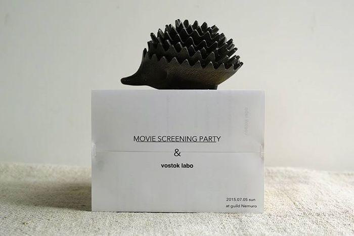 映画上映会「MOVIE SCREENING PARTY(ムービースクリーニングパーティー)」も魅力的な試み。同じく根室に移住した女性二人によって立ち上げられたブランド「VOSTOK labo(ヴォストーク ラボ)」とのコラボイベントです。