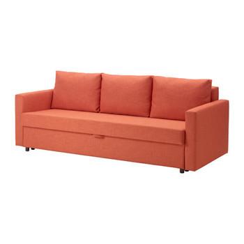 狭い部屋に合わせてソファもベッドも欲しい。けれどソファベッドは面倒だと思っている方におススメしたいフリヘーテンシリーズ。簡単な操作でベッドに早変わり。おまけにシートの下にはたっぷり収納できるスペースがある一石三鳥の優れもの♪