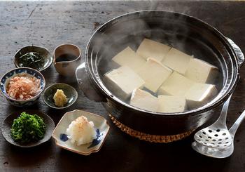 冨田さんのおすすめは『土佐醤油』を薄めたものを、冷たいままであつあつの豆腐にかける頂き方!『土佐醤油』の作り方へのリンクもあります。