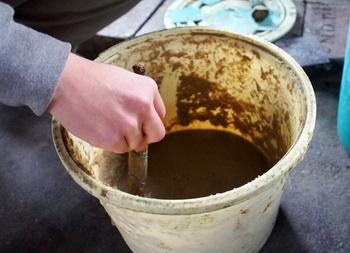 なんとこちらは「糠」を塗り付けて焼くことで着色する技術「糠焼」。糠のあとが模様として浮かび上がるそうですよ。
