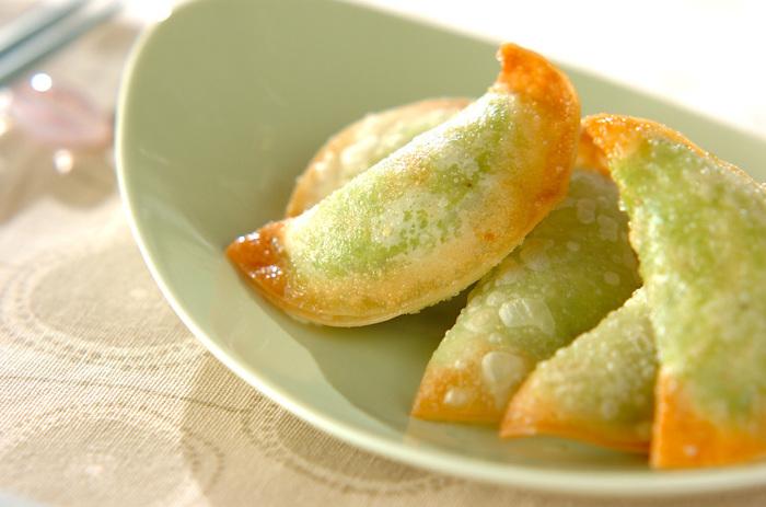 グリーンが新鮮!プロセスチーズと、塩コショウでしっかり味付けしてあるので、そのままでOK!おつまみやサラダ感覚でもいただけます。