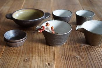四季折々の素材や味わいをより引き立ててくれるような器。