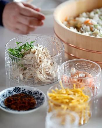 和の食卓にもよくなじみます。フローラで手巻き寿司パーティー、いかがですか?