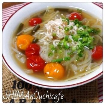 『お野菜たっぷり〜ベジタブルフォー』 ベトナム料理のヘルシーなフォーをベジブロスでいただくとより健康的になります♡