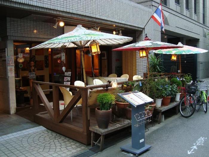 美味しいエスニック料理も充実している南船場。こちらの「タワンタイ」は、タイ人シェフによる本格的なタイ料理が味わえるお店です。