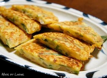 味噌のもつ自然の甘さや香ばしさ、ニラの歯ざわりがどこか懐かしい美味しさを感じさせてくれます。おやつとして野菜が採れるのは嬉しいことですね。