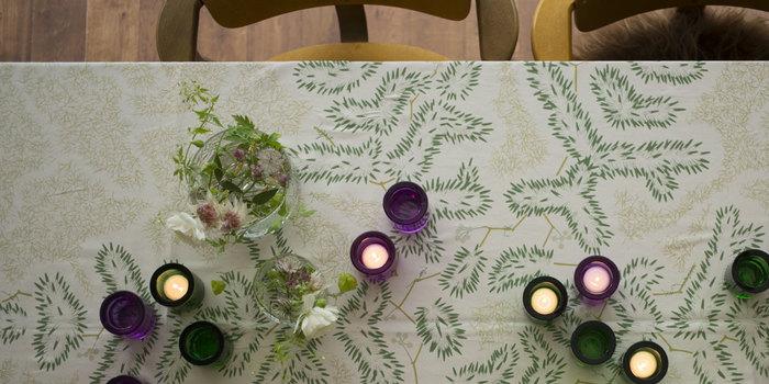 こんな風にテーブルの上にポンポンっとランダムに置いても絵になります。