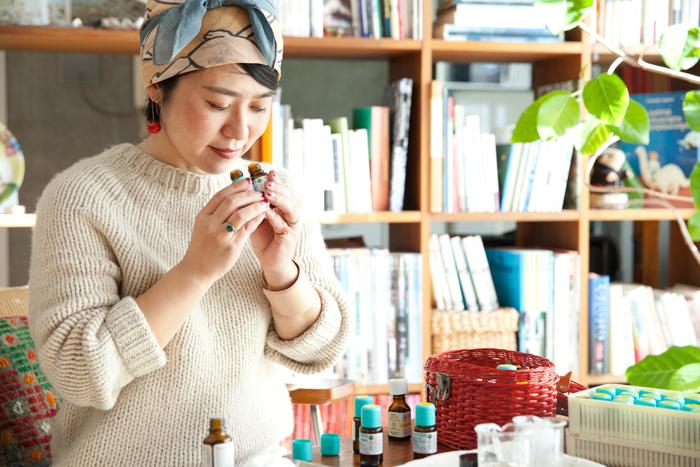 vol.28 sous le nez ・田仲千春さん- 言葉に表すことのできない大切な何かを香りを通じて伝えていきたい