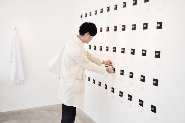 香りは飾られた貝殻の中に閉じ込められ、参加者が自由にかぐことができたのだそう 画像提供:Nidi gallery