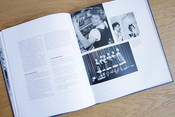 オープン当初のデンマークのまち並みなど貴重な写真が盛りだくさん。イヤマが好きな人な人はもちろん、デンマークの歴史の一端に触れたい方にもぜひおすすめしたい豪華な一冊です。