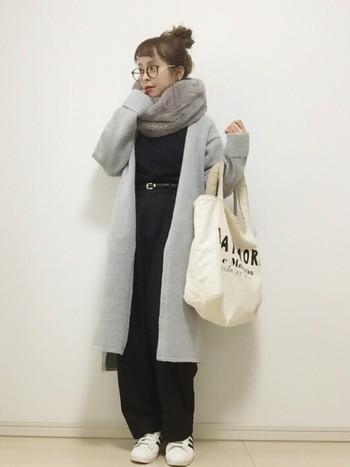 今回は、おだんごヘアー×秋冬ファッションの素敵なコーディネートをご紹介します♪
