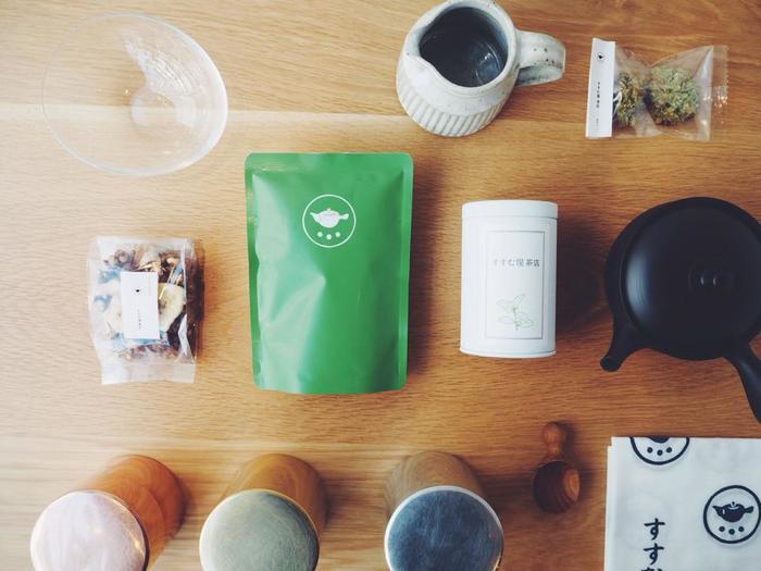おいしいお茶を飲むと幸せな気分になりますよね。味わいある茶葉を厳選しているすすむ屋茶店は、まさに幸せを運んでくれるお茶といえますね。ぜひ一度、味わってみてください♪