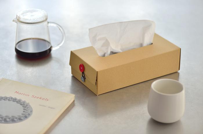 ティッシュボックスって、日常では欠かせないもの。なのにデザインがイマイチ・・・そんな方にオススメなのが、concrete craftのとってもシンプルなティッシュボックスです。