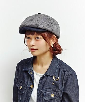 シンプルにさらっと被るのが正解。意外と使える「ハンチング帽」のコーディネート
